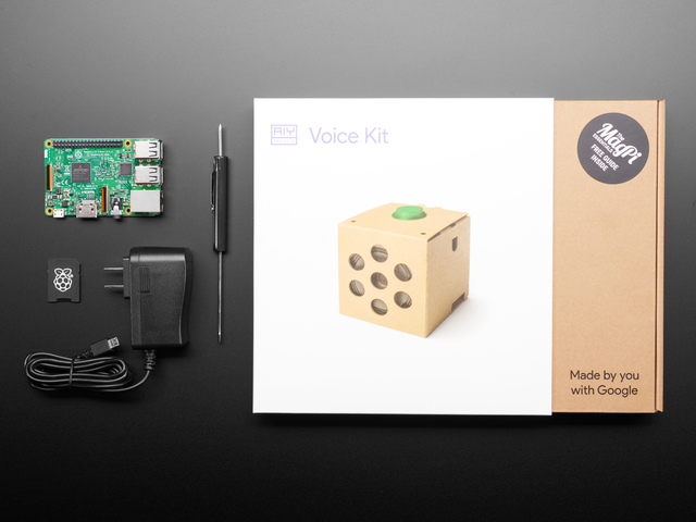 Google AIY Voice Kit for Raspberry Pi - Starter Pack