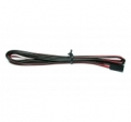 2-wire cable, Red Black (1m)