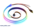 Addressable High-Density RGB 72-LED Strip, 5V, 0.5m (SK9822)