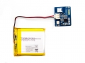 Battery Detector with Polymer Lithium Ion 1050mAh 3.7V