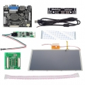 "HDMI/VGA Digital 9"" 9 Inch Touch Screen LCD+Driver Board for Ras"