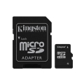 MICRO SDHC KINGSTON 16GB CL10 CON ADATTATORE SD E MICRO SD