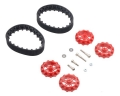 Pololu 22T Track Set - Red