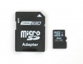 SD/MicroSD Memory Card (4 GB SDHC) -