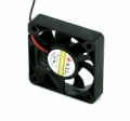 Small fan, for mounting on an extruder for example