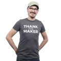 Thank the Maker Tee - Medium
