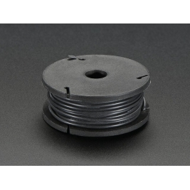 Silicone Cover Stranded-Core Wire - 25ft 26AWG - Black