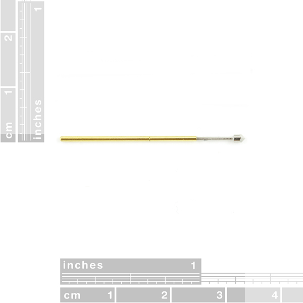 Pogo Pin w/ Chiseled Tip