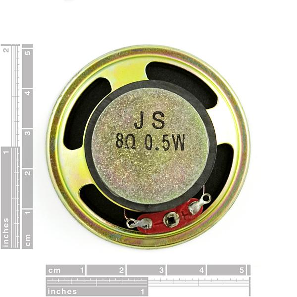 Speaker - 0.5W (8 ohm)