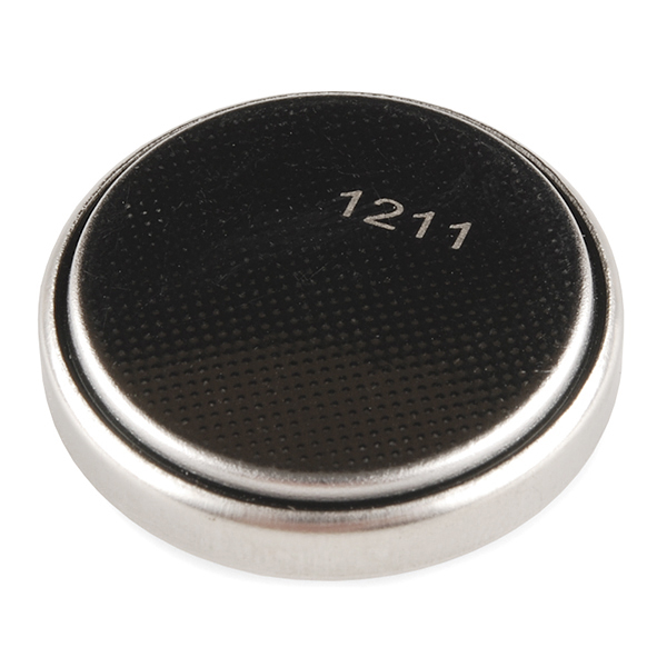 Coin Cell Battery - 24.5mm (Rechargeable CR2450)