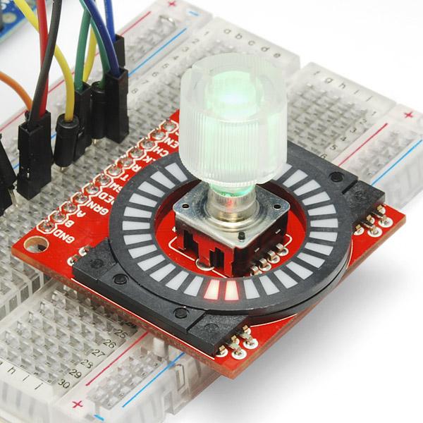 Circular LED Bargraphs - Red