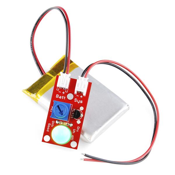 "SparkFun ""Uh-oh"" Battery Level Indicator Kit"