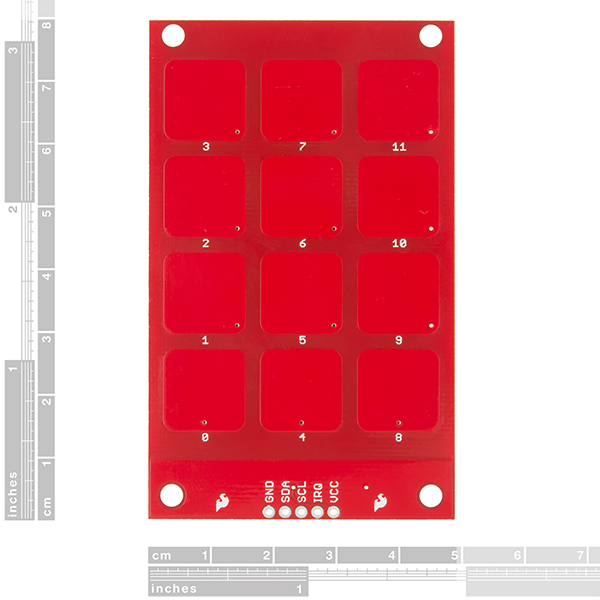 SparkFun Capacitive Touch Keypad - MPR121