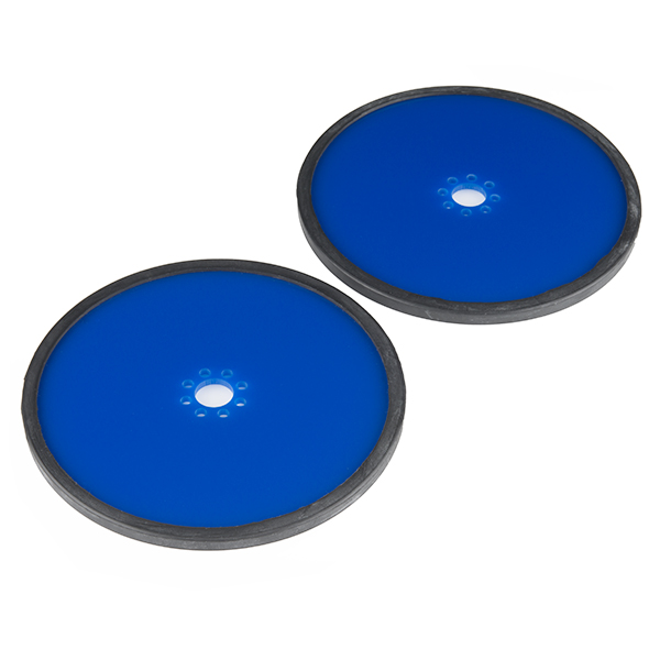 "Precision Disc Wheel - 5"" (Blue)"