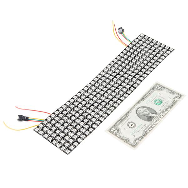 Flexible LED Matrix - WS2812B (8x32 Pixel)