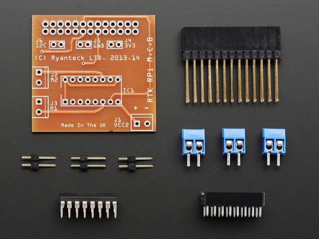 RTK Motor Controller Board Kit for Raspberry Pi
