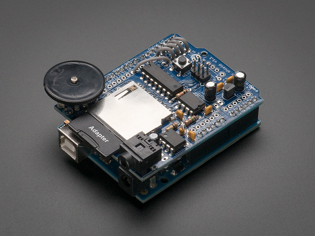 Adafruit Wave Shield for Arduino Kit