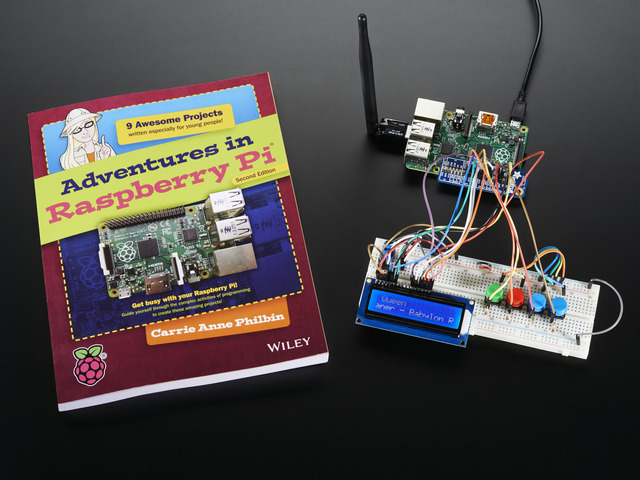 Companion Parts Pack for Adventures in Raspberry Pi