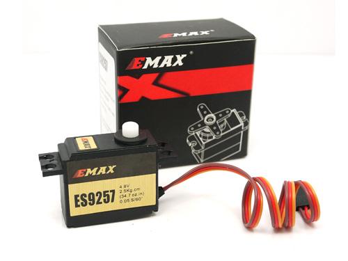 EMAX ES9257 2.5kg/ .05 sec Micro Digital 3D Tail Servo