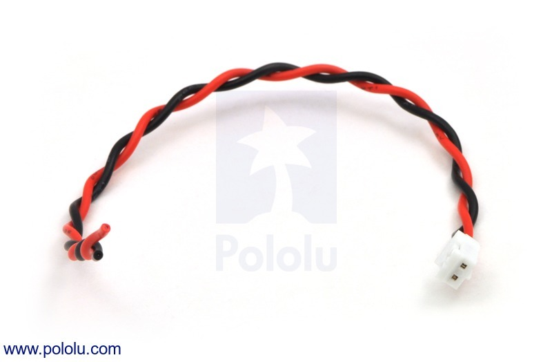 2-Pin Female JST PH-Style Cable (14cm)