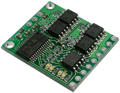 Pololu Low-Voltage Dual Serial Motor Controller