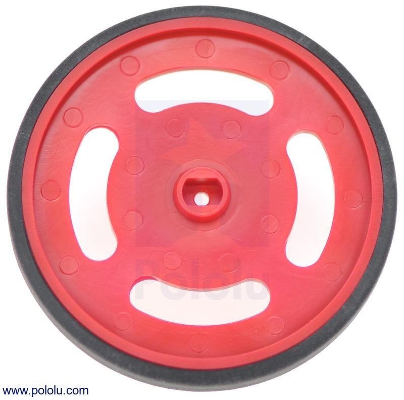 Solarbotics GMPW-R Red Wheel