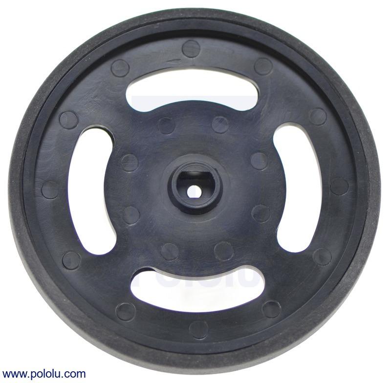 Solarbotics GMPW-B Black Wheel
