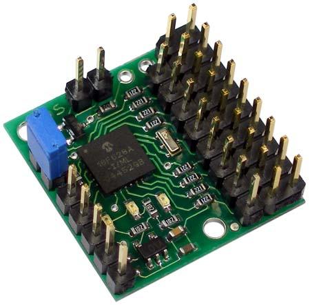Pololu Micro Serial Servo Controller (assembled)