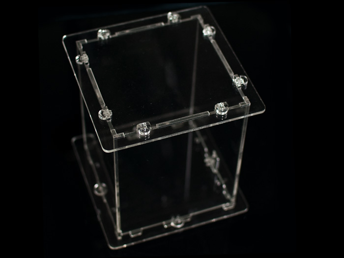 Rainbow Cube Kit Acrylic Harness