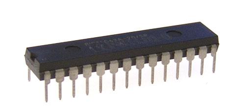 Serial 16-Servo Controller PIC 0