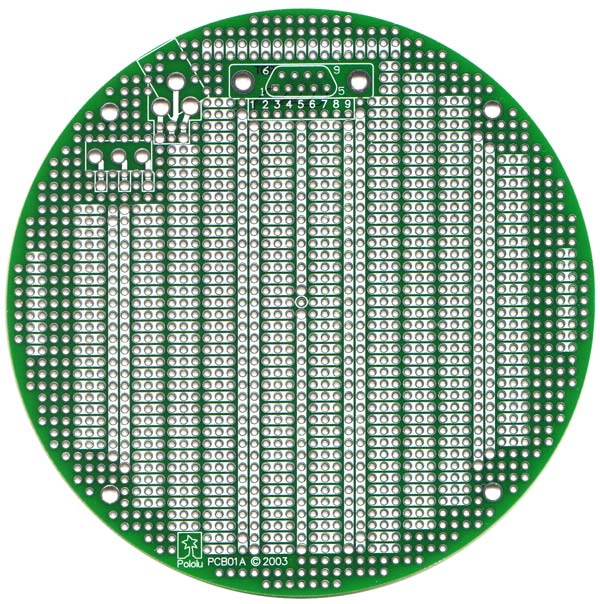 PCB01A 5 (inches) Round Prototyping PCB
