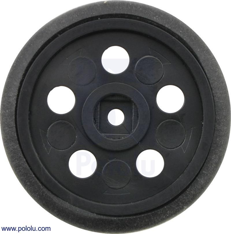 Solarbotics GM10 1 (inches) Wheel Black