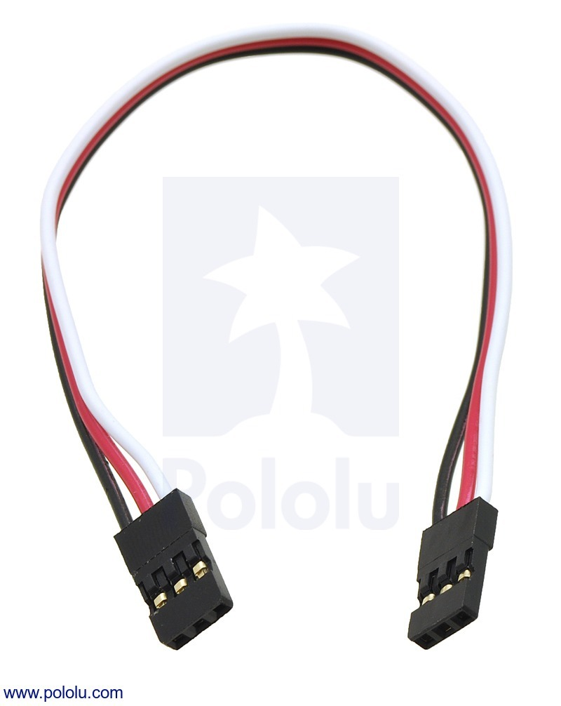 Servo Extension Cable 6 (inches) Female - Female