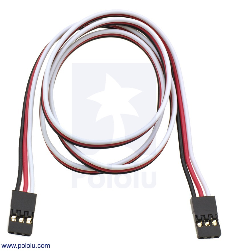 Servo Extension Cable 24 (inches) Female - Female