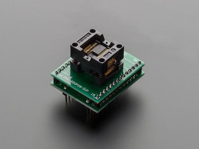 SMT Test Socket - TSSOP-28 Breakout