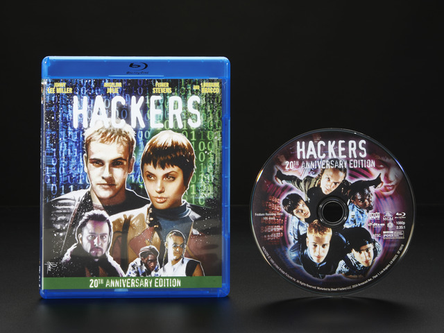 Hackers Blu-ray - 20th anniversary edition