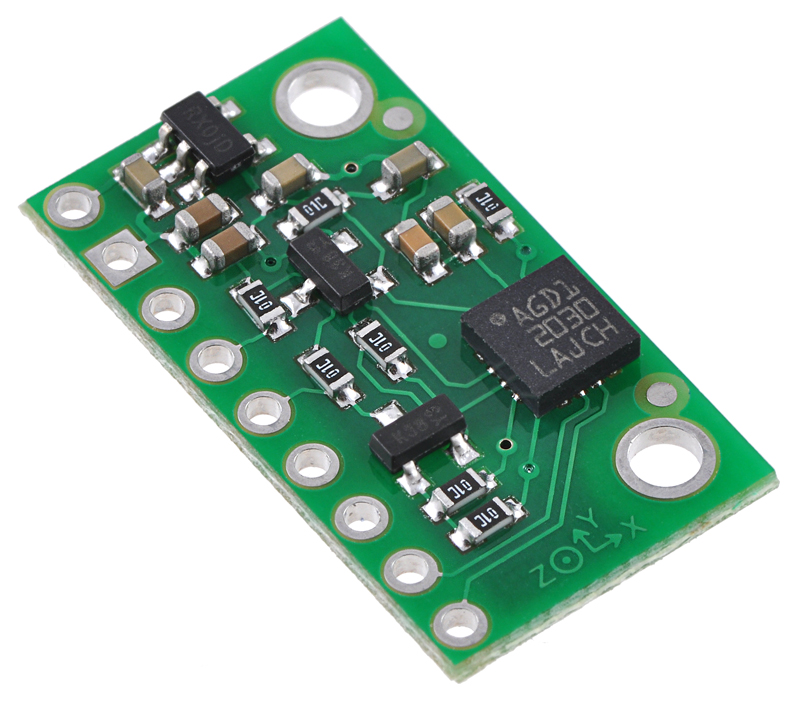 L3G4200D 3-Axis Gyro Carrier with Voltage Regulator