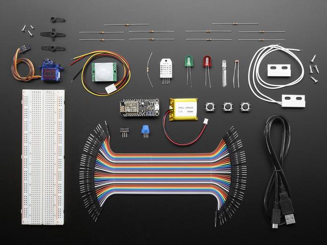 Microsoft Azure IoT Starter Kit w/ Adafruit Feather HUZZAH