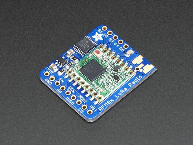 Adafruit RFM96W LoRa Radio Transceiver Breakout - 433 MHz