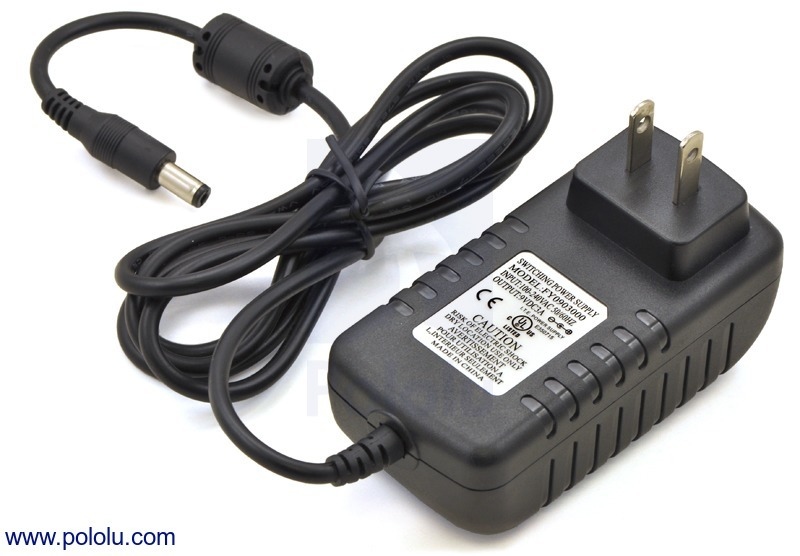 Wall Power Adapter: 9VDC, 3A, 5.5×2.1mm Barrel Jack, Center-Pos