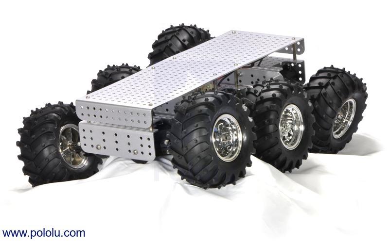 Dagu Wild Thumper 6WD All-Terrain Chassis, Silver, 75:1