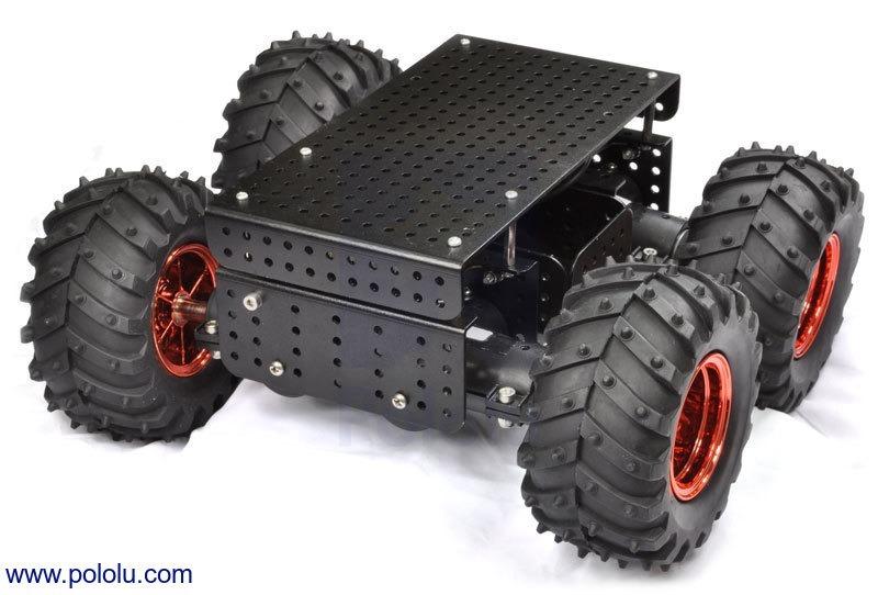 Dagu Wild Thumper 4WD All-Terrain Chassis, Black, 75:1