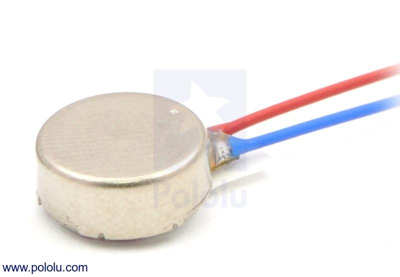 Shaftless Vibration Motor 8x3.4mm