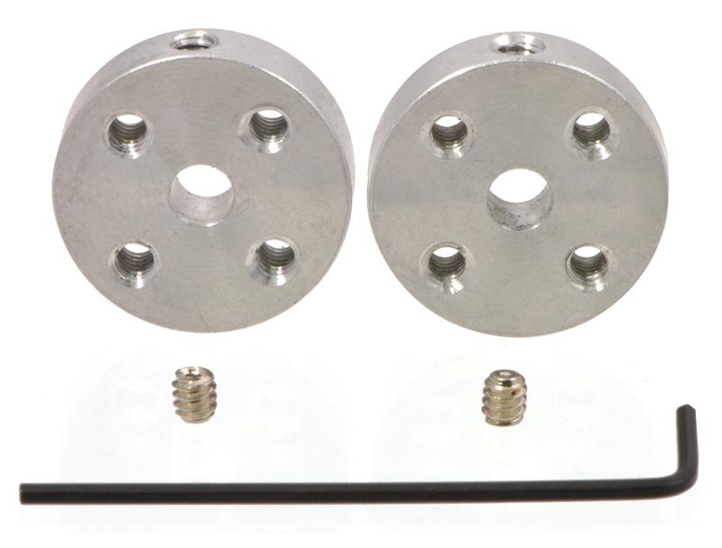 Pololu Universal Aluminum Mounting Hub for 4mm Shaft, M3 Holes (
