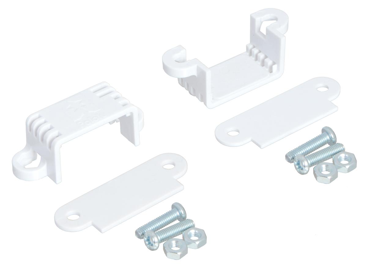 Pololu Mini Plastic Gearmotor Bracket Pair - Wide