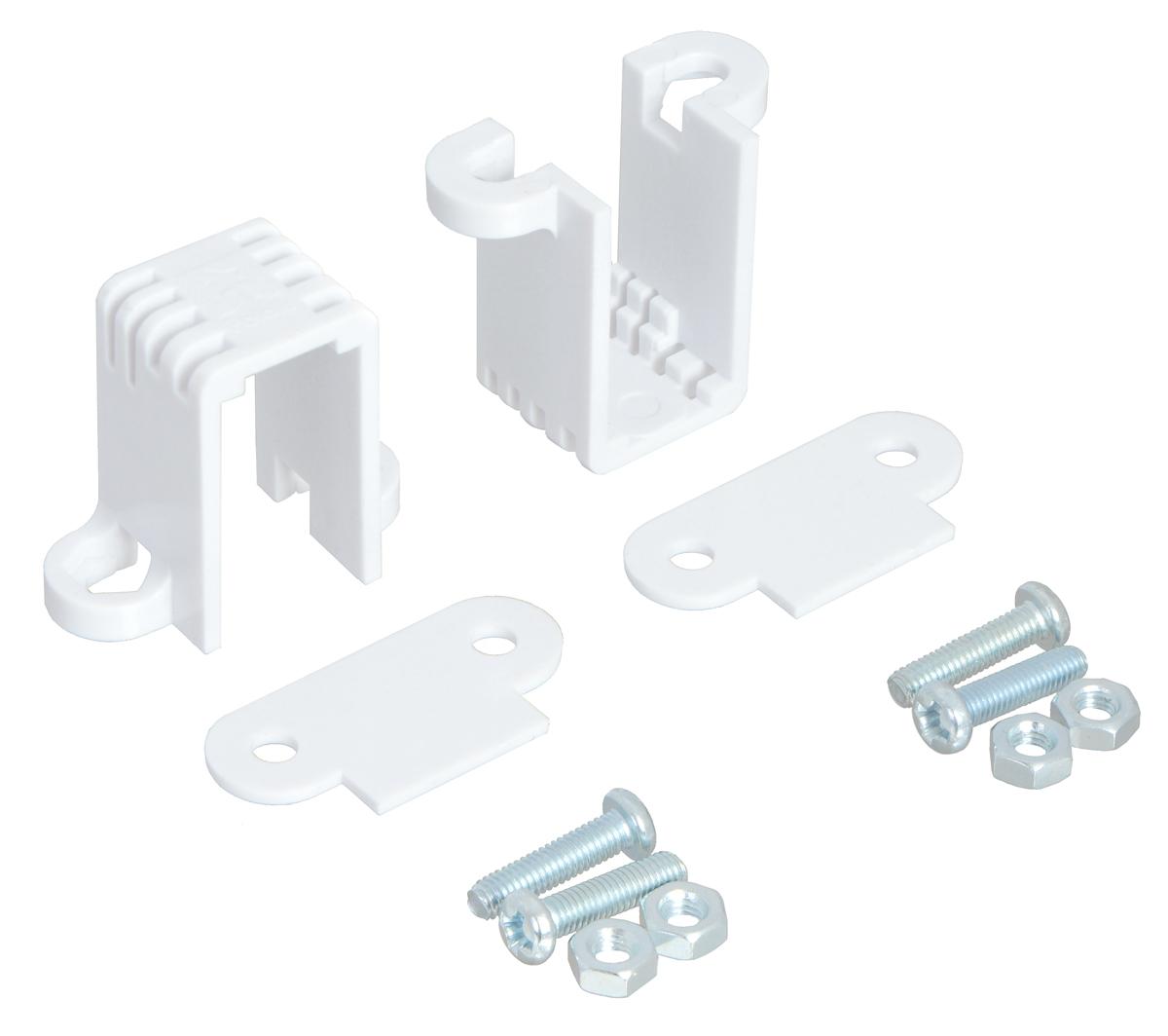 Pololu Mini Plastic Gearmotor Bracket Pair - Tall