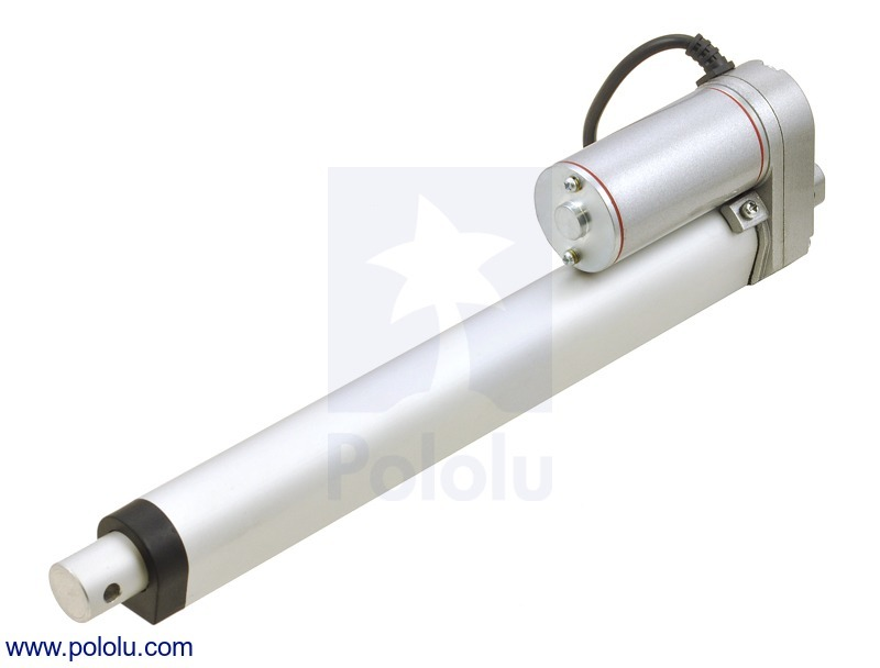 Generic Linear Actuator: 8 (inches) Stroke, 12V, 1.5 (inches)/s