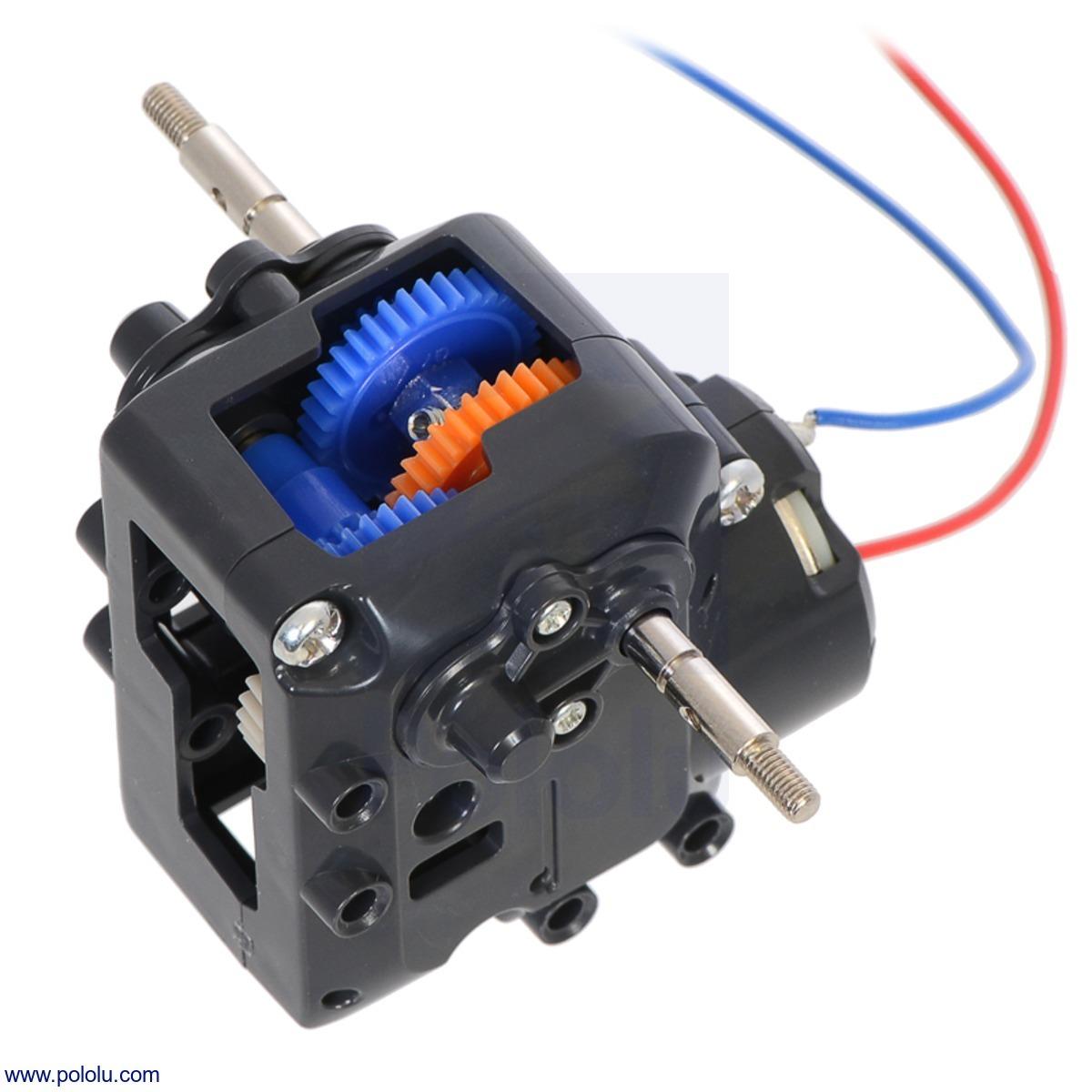 Tamiya 72008 4-Speed Worm Gearbox Kit