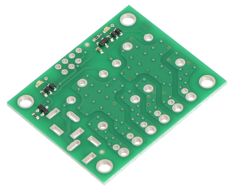 Pololu Basic 2-Channel SPDT Relay Carrier for  (inches)Sugar Cub