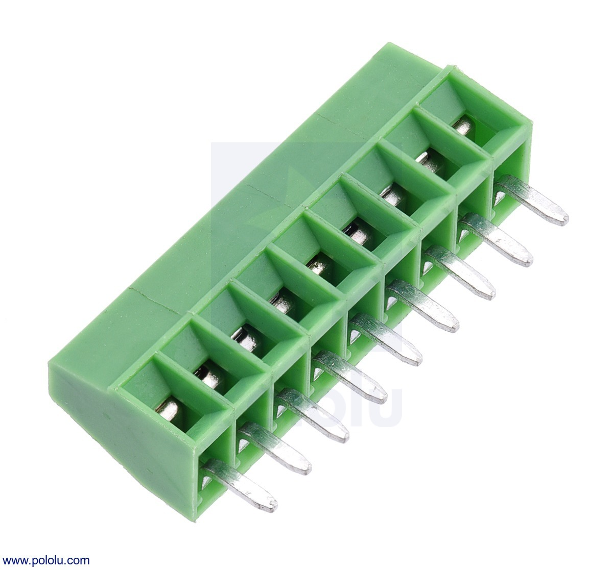 Screw Terminal Block: 9-Pin, 0.1″ Pitch, Side Entry